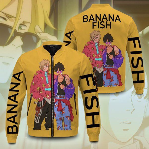 banana fish bomber jacket 226912 - Anime Jacket