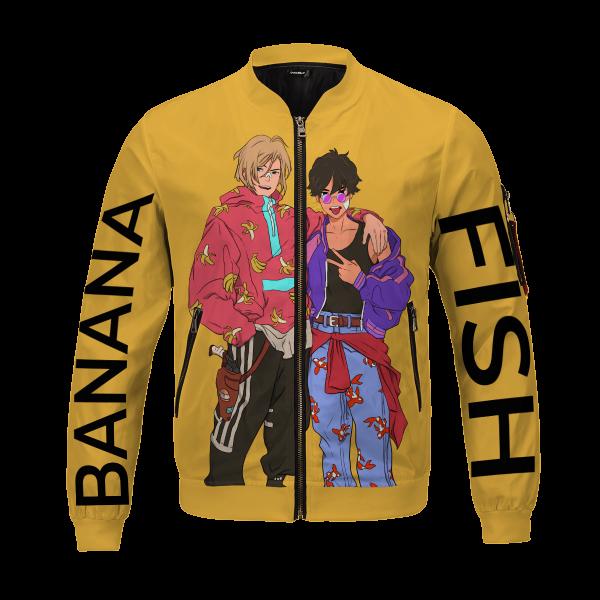 banana fish bomber jacket 547195 - Anime Jacket