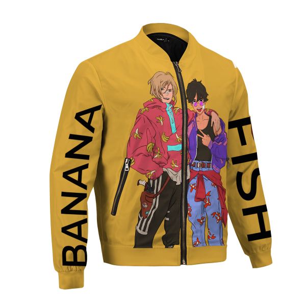 banana fish bomber jacket 659194 - Anime Jacket