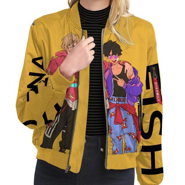 banana fish bomber jacket 675511 - Anime Jacket