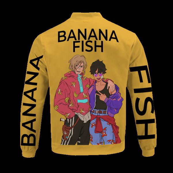 banana fish bomber jacket 910216 - Anime Jacket