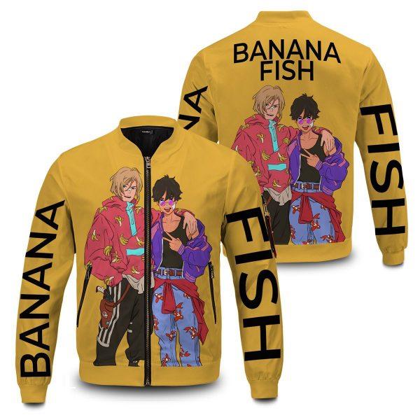 banana fish bomber jacket 966561 - Anime Jacket
