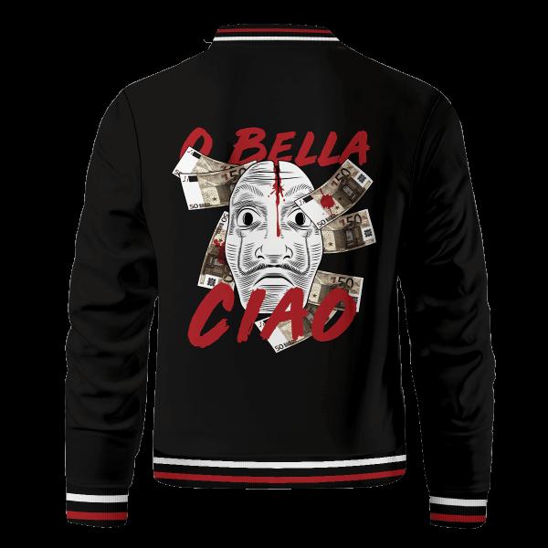 bella ciao bomber jacket 168760 - Anime Jacket