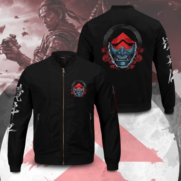 beware of the ghost bomber jacket 118191 - Anime Jacket