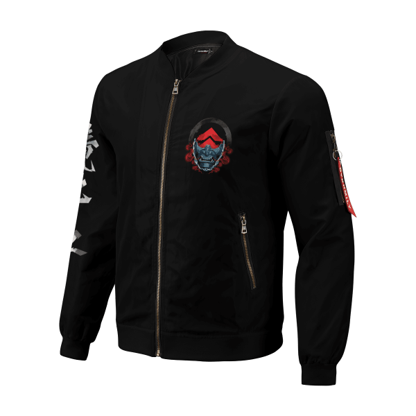 beware of the ghost bomber jacket 138262 - Anime Jacket
