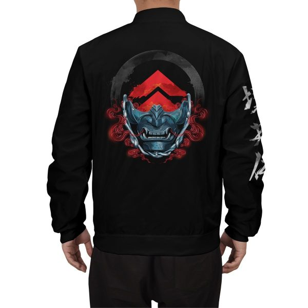 beware of the ghost bomber jacket 141250 - Anime Jacket