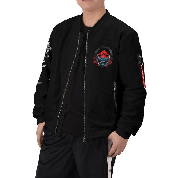 beware of the ghost bomber jacket 436540 - Anime Jacket