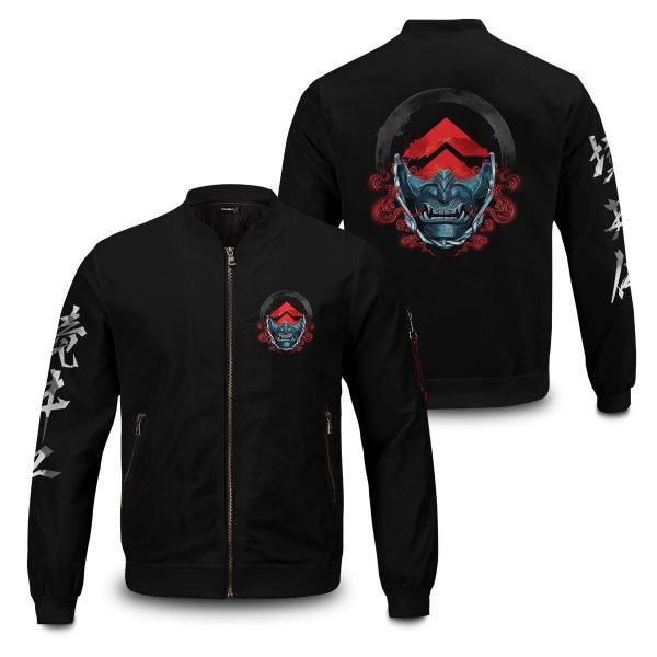 beware of the ghost bomber jacket 596208 - Anime Jacket