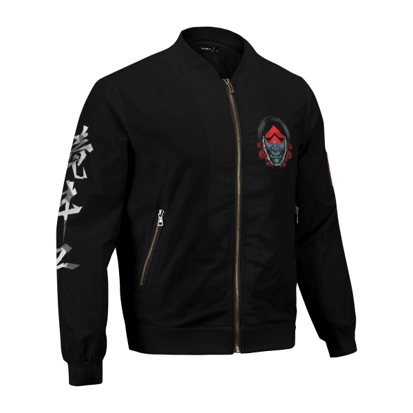 beware of the ghost bomber jacket 695223 - Anime Jacket