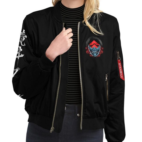 beware of the ghost bomber jacket 764489 - Anime Jacket
