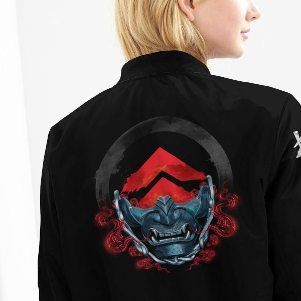 beware of the ghost bomber jacket 793158 - Anime Jacket
