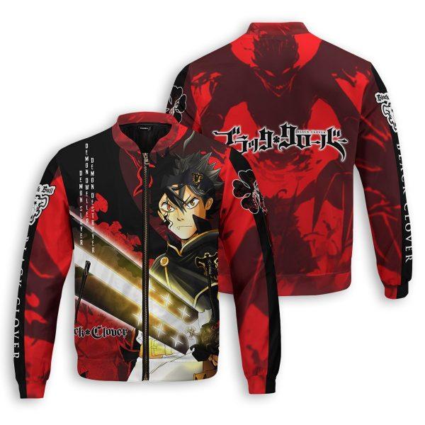 black asta bomber jacket 373531 - Anime Jacket