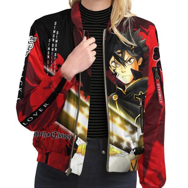 black asta bomber jacket 413878 - Anime Jacket