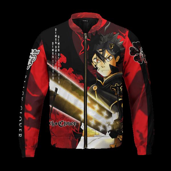 black asta bomber jacket 477745 - Anime Jacket