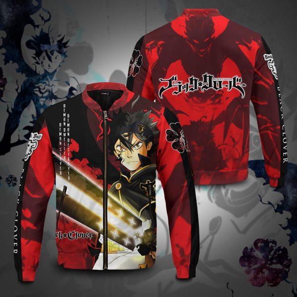 black asta bomber jacket 757587 - Anime Jacket