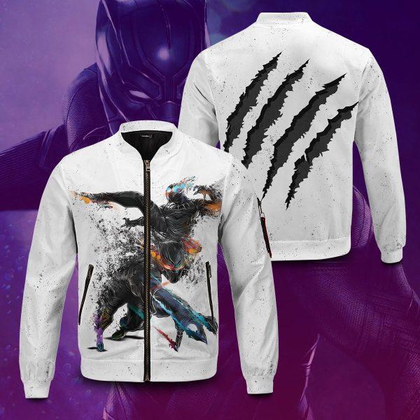 black panther bomber jacket 365584 - Anime Jacket