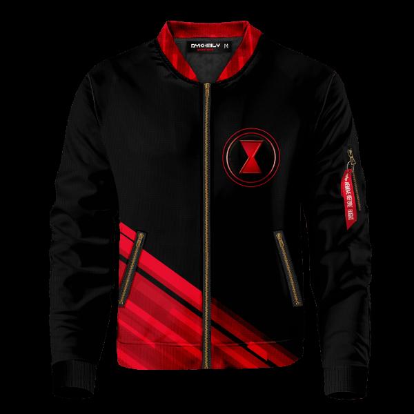 black widow corps bomber jacket 507573 - Anime Jacket