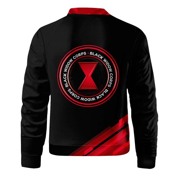 black widow corps bomber jacket 980915 - Anime Jacket