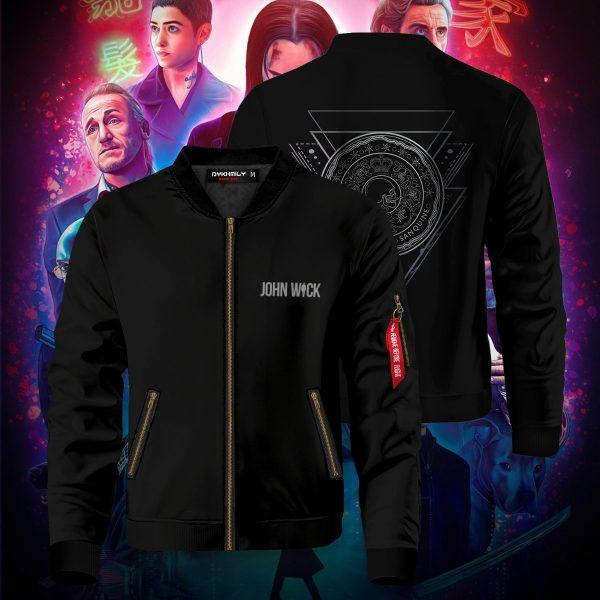 blood oath marker bomber jacket 501494 - Anime Jacket