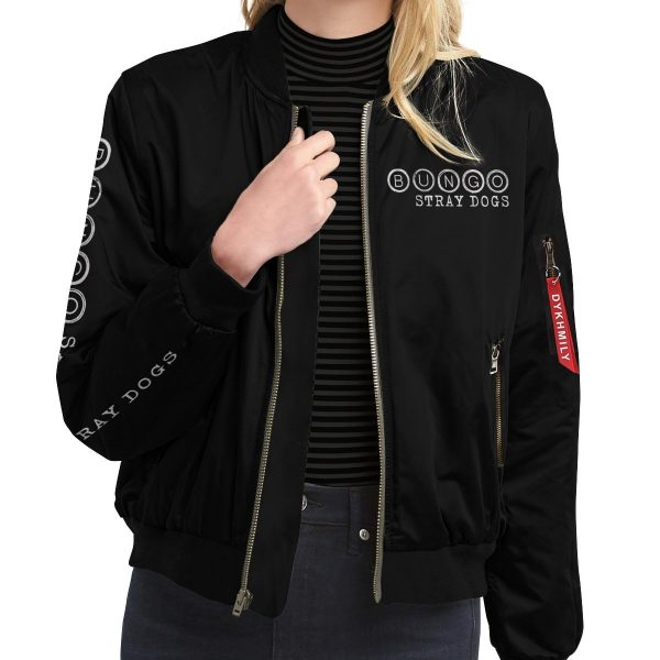 bsd detective agents bomber jacket 116961 - Anime Jacket