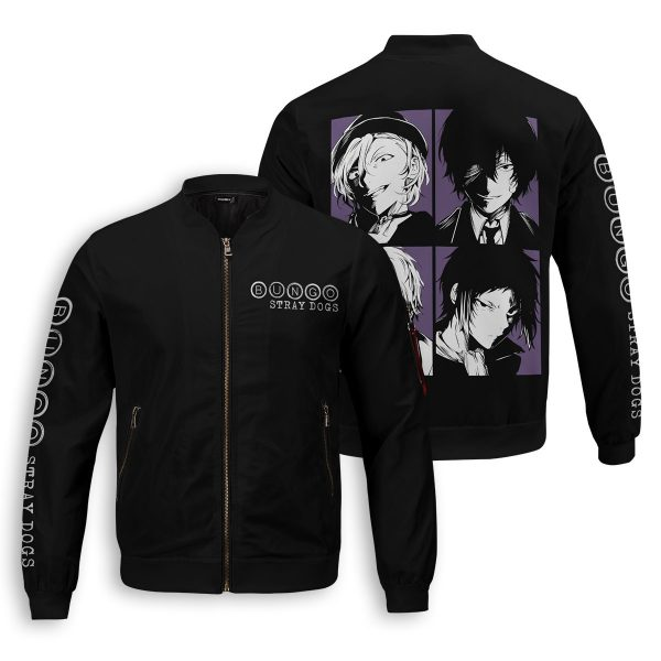 bsd detective agents bomber jacket 596590 - Anime Jacket