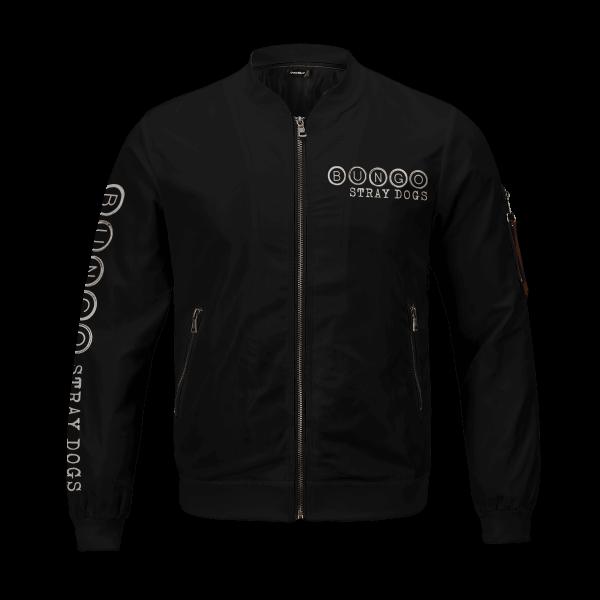 bsd detective agents bomber jacket 608492 - Anime Jacket