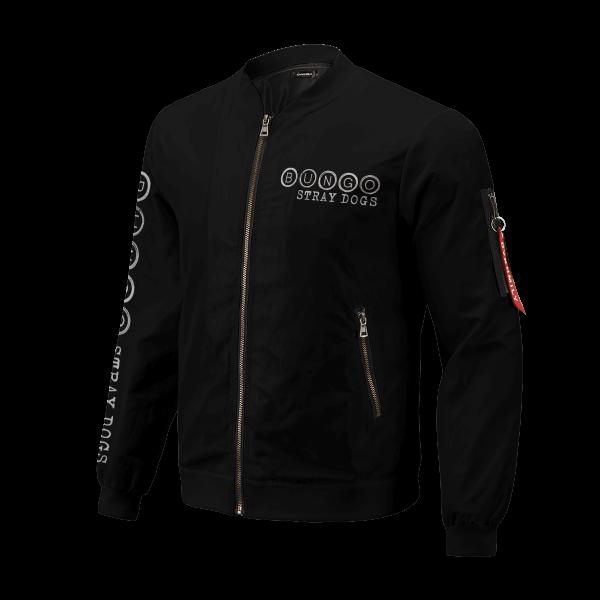 bsd detective agents bomber jacket 677659 - Anime Jacket