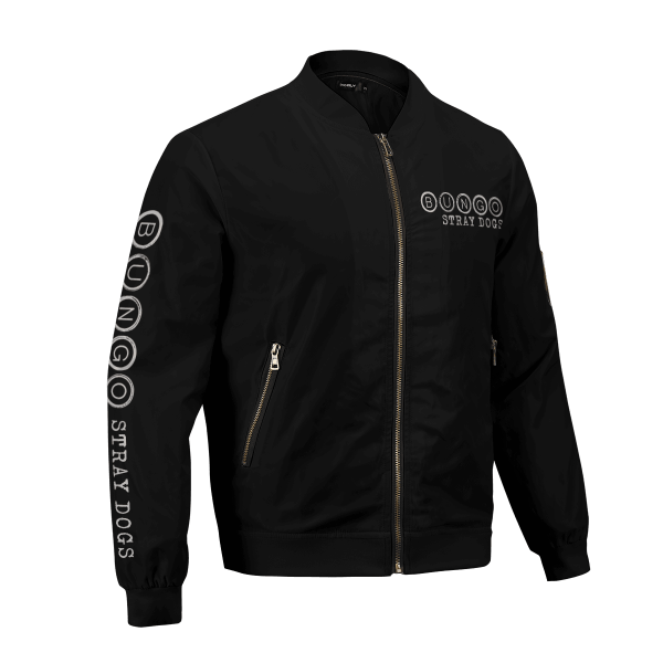 bsd detective agents bomber jacket 712885 - Anime Jacket