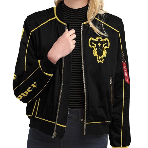 bull squad bomber jacket 981213 - Anime Jacket
