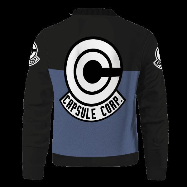 capsule corp bomber jacket 244701 - Anime Jacket