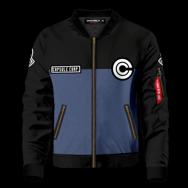 capsule corp bomber jacket 284012 - Anime Jacket