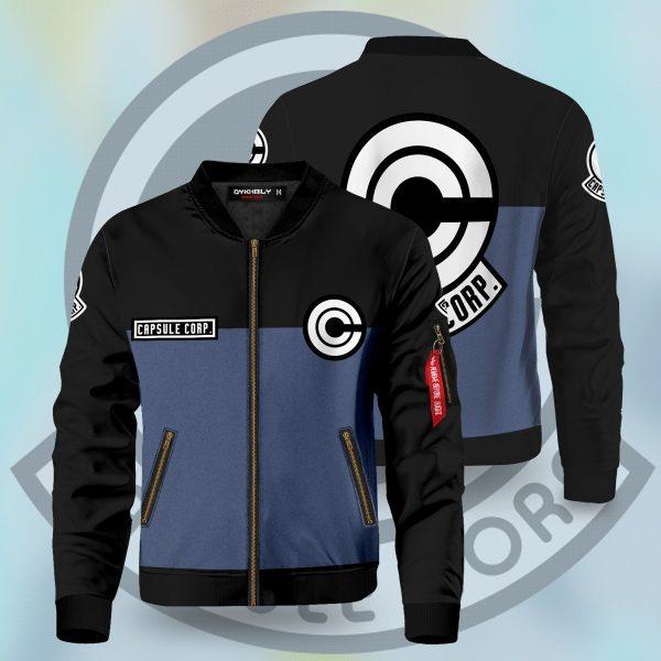 capsule corp bomber jacket 657033 - Anime Jacket