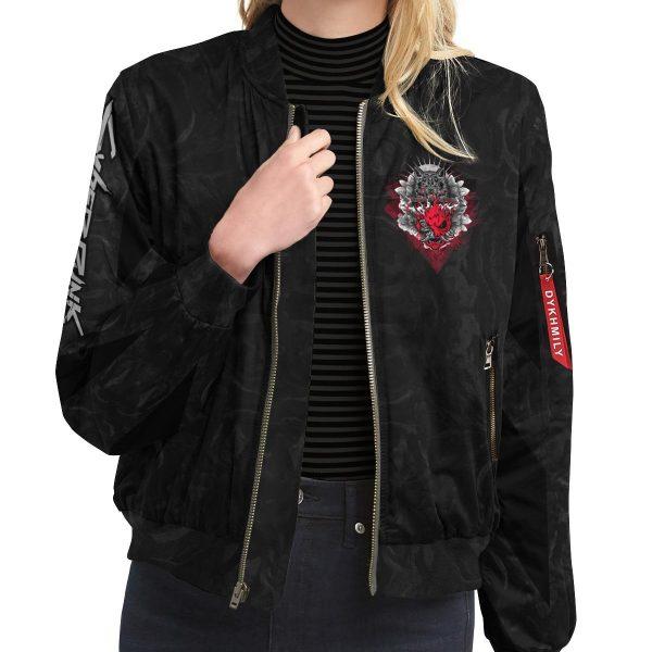 cyber samurai bomber jacket 132817 - Anime Jacket