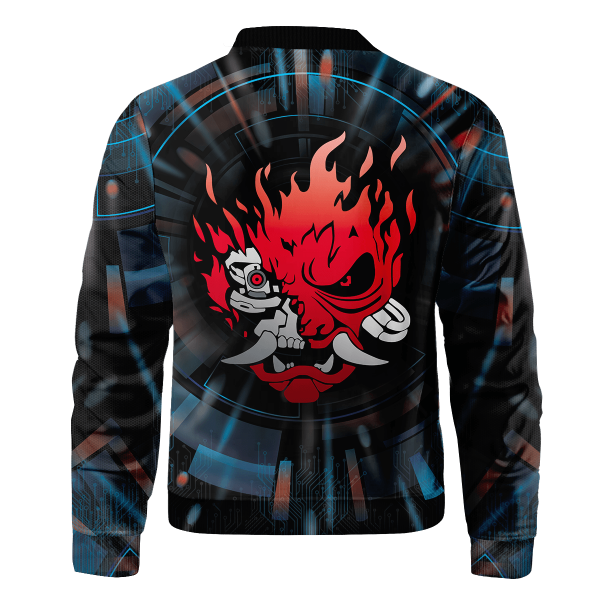 cyberpunk samurai bomber jacket 106761 - Anime Jacket