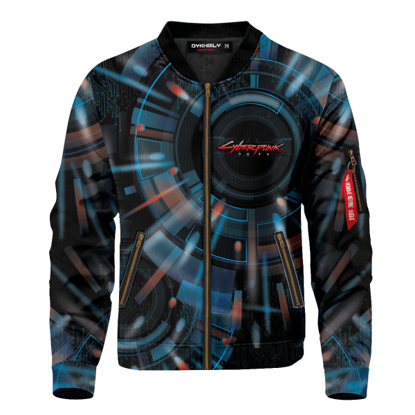 cyberpunk samurai bomber jacket 173277 - Anime Jacket