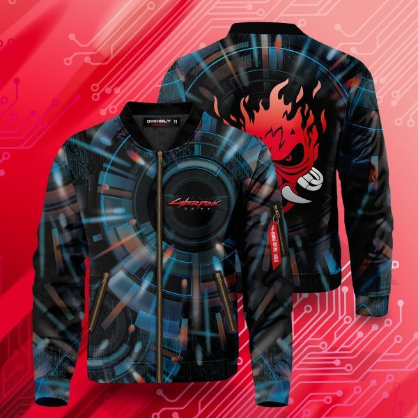 cyberpunk samurai bomber jacket 607576 - Anime Jacket