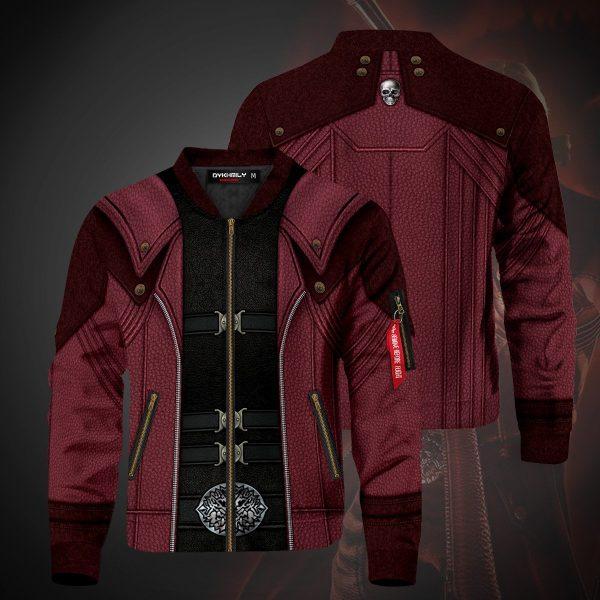 dante bomber jacket 995578 - Anime Jacket