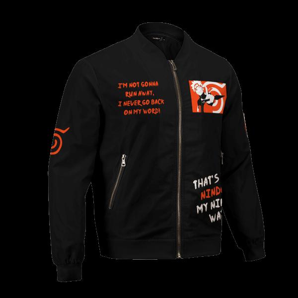 dark naruto bomber jacket 118345 - Anime Jacket