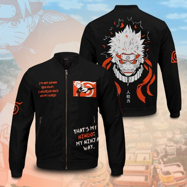 dark naruto bomber jacket 366187 - Anime Jacket