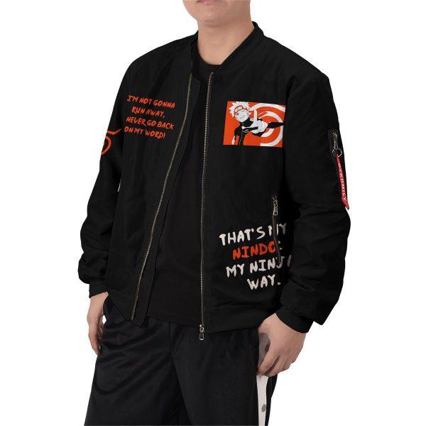 dark naruto bomber jacket 393413 - Anime Jacket