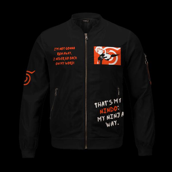 dark naruto bomber jacket 903004 - Anime Jacket