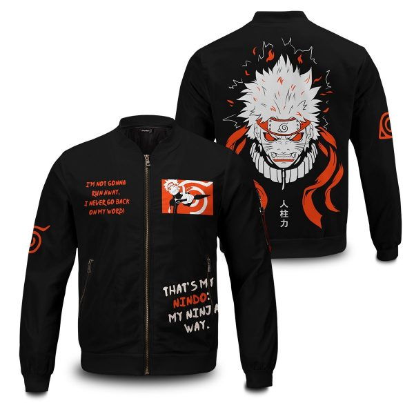 dark naruto bomber jacket 927552 - Anime Jacket