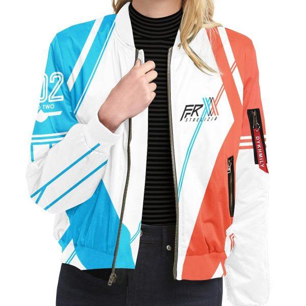 darling in the franxx strelizia bomber jacket 313226 - Anime Jacket