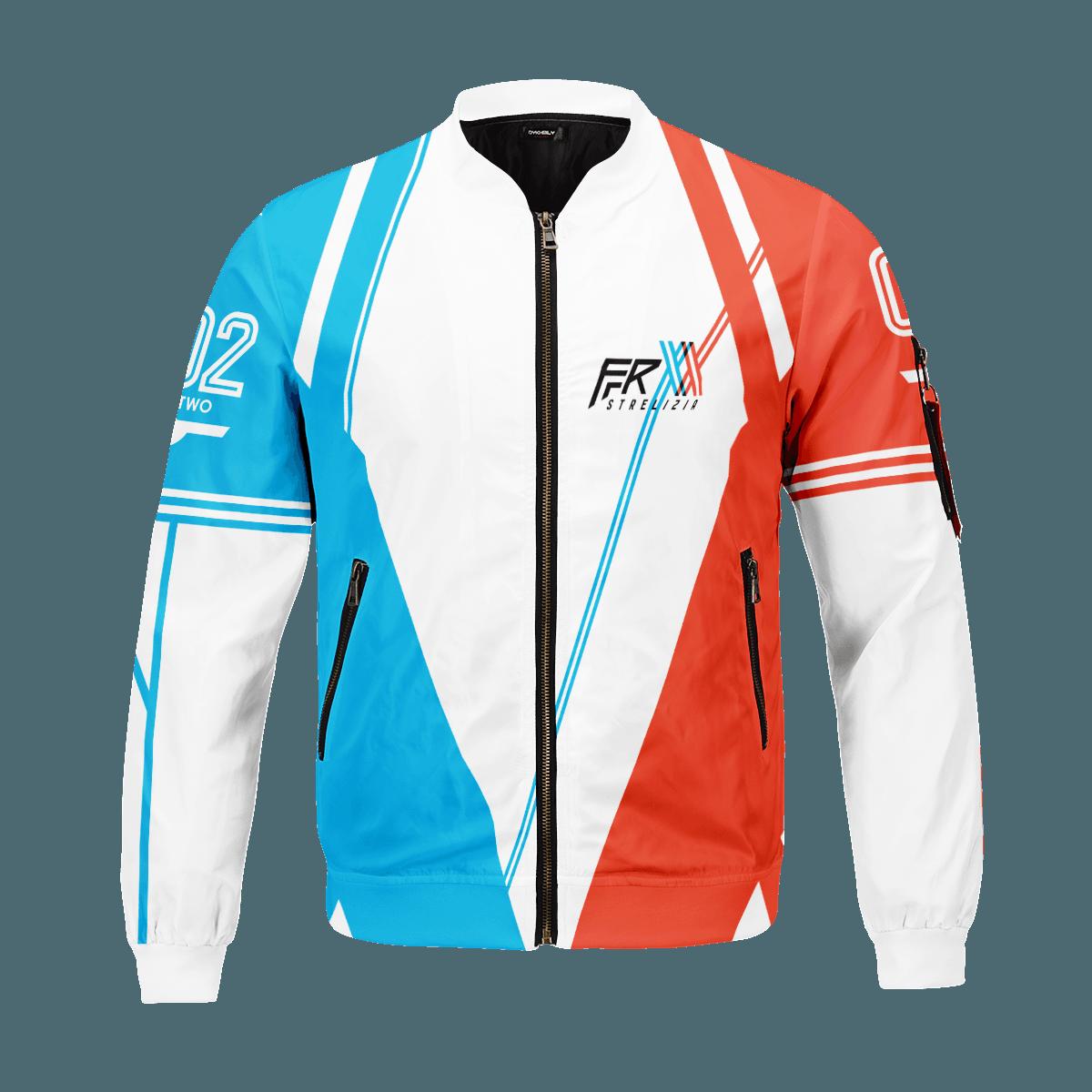 darling in the franxx strelizia bomber jacket 335648 - Anime Jacket