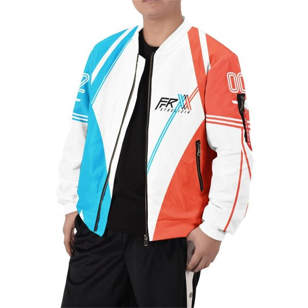 darling in the franxx strelizia bomber jacket 378144 - Anime Jacket