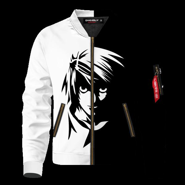 death note l bomber jacket 116829 - Anime Jacket