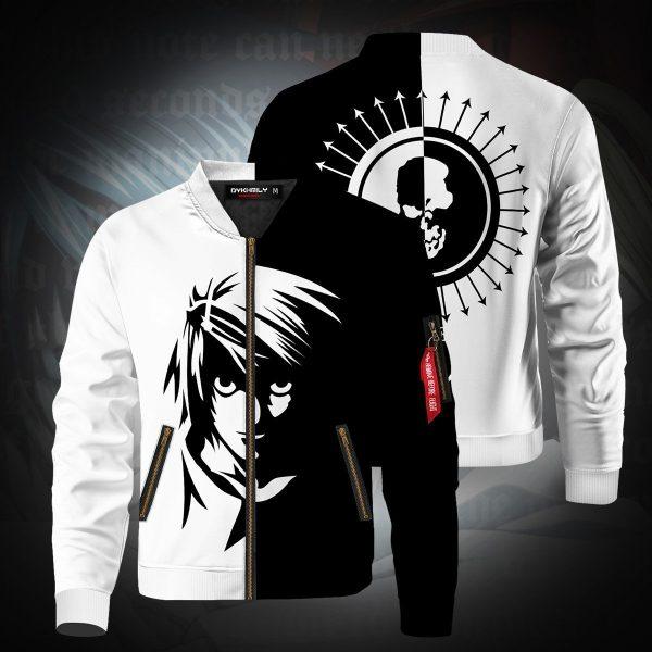 death note l bomber jacket 486955 - Anime Jacket