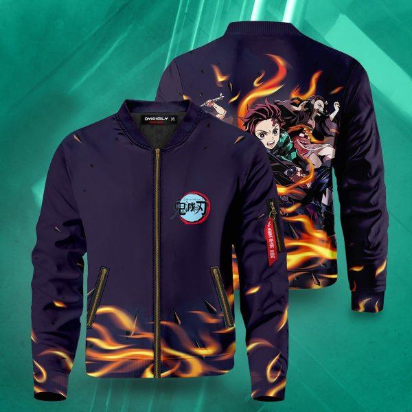 demon slayer bomber jacket 703643 - Anime Jacket