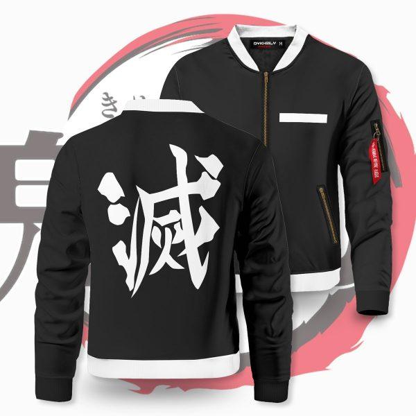 demon slayer corps bomber jacket 180485 - Anime Jacket