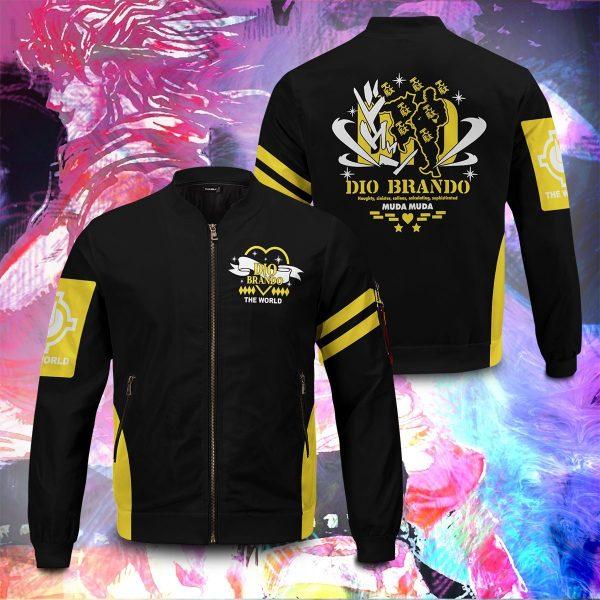 dio brando bomber jacket 433155 - Anime Jacket